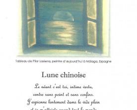 Luna cinese, traduzione in francese di Mariette Cirerol