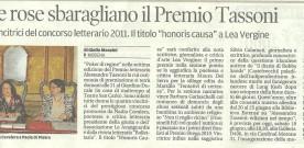 Premio Alessandro Tassoni 2011, rassegna stampa del 18 giugno