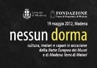 Nessun Dorma, a Modena il 19 maggio