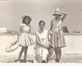 Nadia Cavalera, anni sessanta