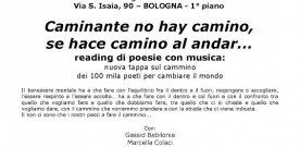 Bologna, reading di poesia con musica, l'11 novembre