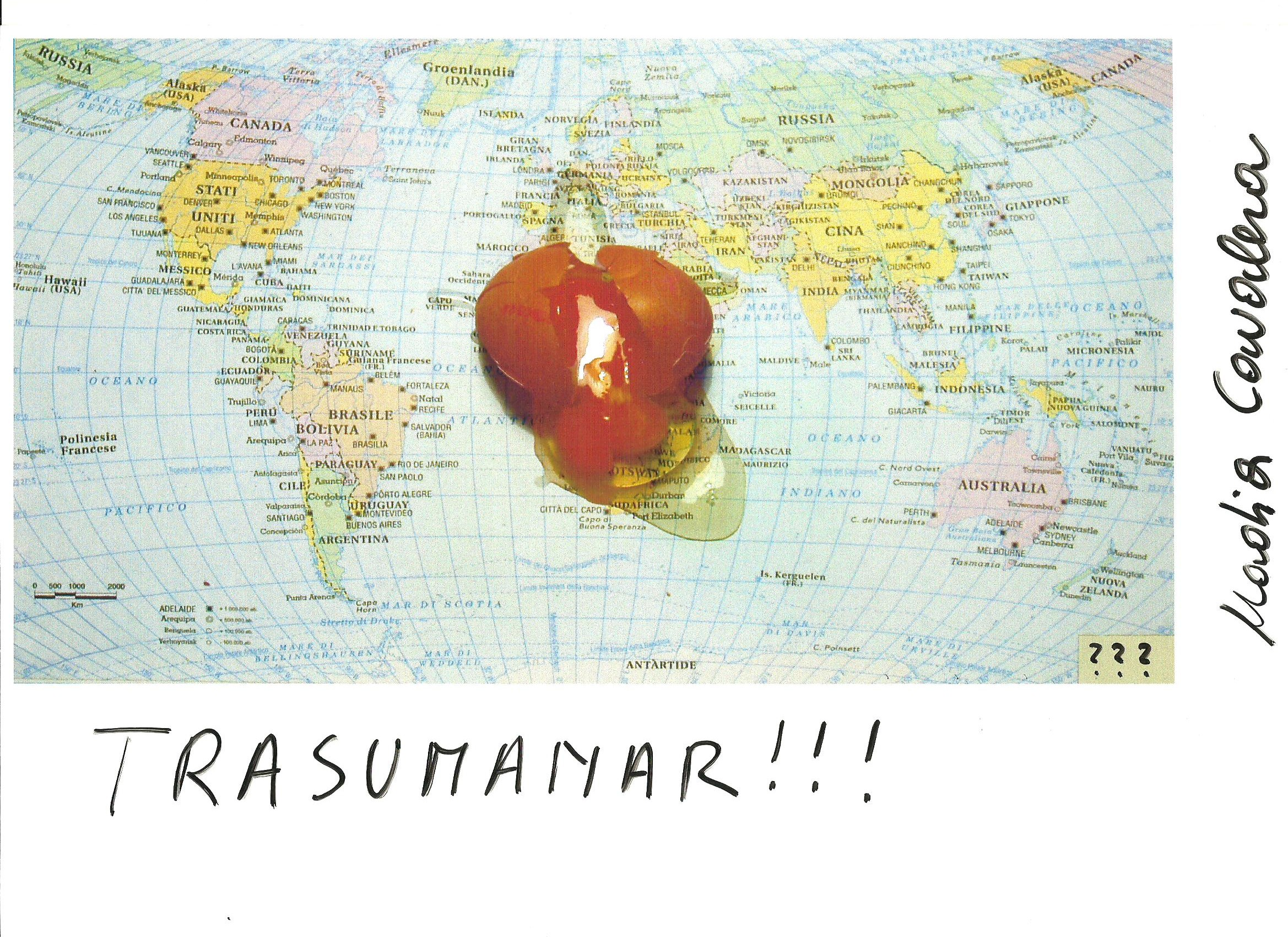 Trasumanar, di Nadia Cavalera per P.P.Pasolini