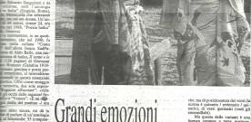"""Ennio Bonea, """"Grandi emozioni Poemi 'concentrati'"""", in «Quotidiano», 30 giugno 1999"""