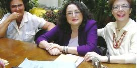 Maria Pia Moschini, Nadia Cavalera e Mariella Bettarini
