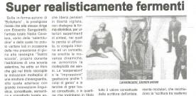 """Giovanni Amodio, su """"Superrealisticallegoricamente"""", in «Taranto sera», 5 giugno 2006"""