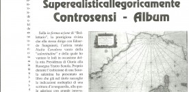 "Giovanni Amodio su ""Superrealisticallegoricamente"", in «Meridiano sud», 31 maggio 2006"