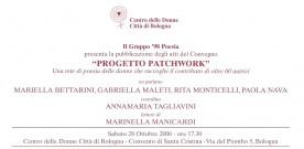 Progetto Patchwork, atti del Convegno, presentazione a Bologna, 28 ottobre 2006