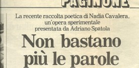 """Gerardo Trisolino su """"Amsirutuf: enimma"""""""