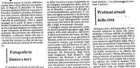 """Giorgio Cretì, su """"I palazzi di Brindisi"""""""