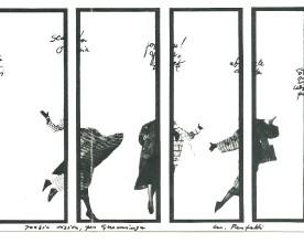 Michele Perfetti, cartolina, 3.08.1988