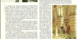 "Franca Rossi, intervista a Nadia Cavalera, in ""Cosmopolitan"" 1989"