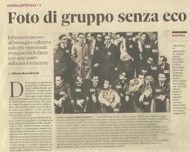 Gruppo 63_foto con Amelia Rosselli, Il Sole 24 ore 24/02/2013