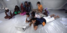 I CENTO SCATTI ragazzi in terremoto, 24 maggio, mostra e reading di poesie