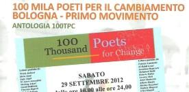 """""""100.mila poeti per il Cambiamento"""" è ora un'antologia"""