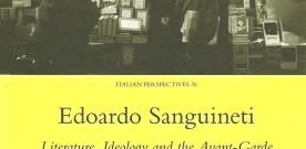 Edoardo Sanguineti, a cura di Paolo Chirumbolo e John Picchione