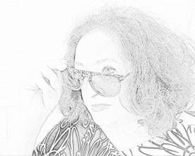 Nadia Cavalera, foto (con variante) di Rosers