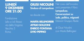 Migrare, accogliere, respingere, a Roma il 9 dicembre