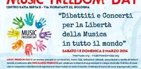 Music Freedom Day, terza edizione, a Bologna, 1 e 2 marzo