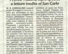 PAT 2014_il Resto del Carlino, 5 giugno