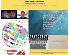(SPRIGIONATE) LE PAROLE -Diritto alla parola contraria-, RE, 28.01.2015