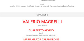 Premio Alessandro Tassoni, cartolina invito e locandina