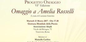 Omaggio a Amelia Rosselli, Roma, 21 maggio 2017