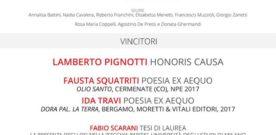 Premio Alessandro Tassoni, Cerimonia di Premiazione