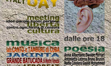 MUSIC FREEDOM ITALY DAY, Bologna 1 giugno 2018